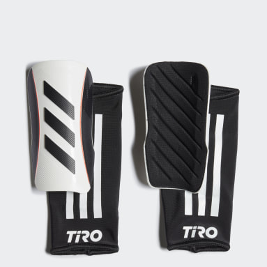 Youth 8-16 Years Football White Tiro League Shin Guards