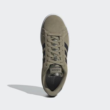 Men's Essentials Green Grand Court Shoes