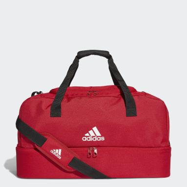 Tréning A Fitnes červená Taška Tiro Medium