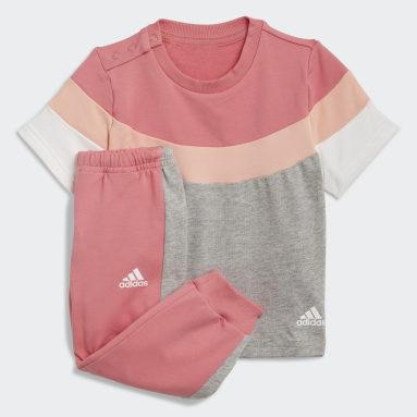 Meisjes Fitness En Training Roze Summer Joggingpak