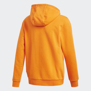 Youth Originals Orange Pharrell Williams Hooded Sweatshirt