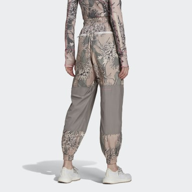 Frauen adidas by Stella McCartney adidas by Stella McCartney Future Playground Woven Hose Rosa