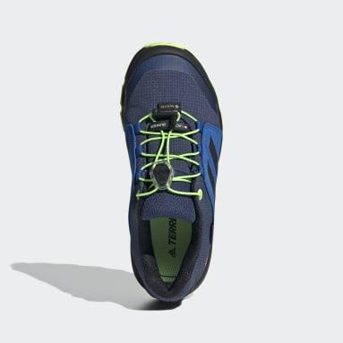 Kids TERREX Blue Terrex GORE-TEX Hiking Shoes