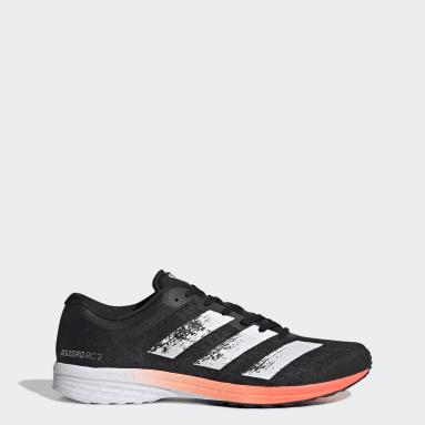 Men Running Black Adizero RC 2.0 Shoes