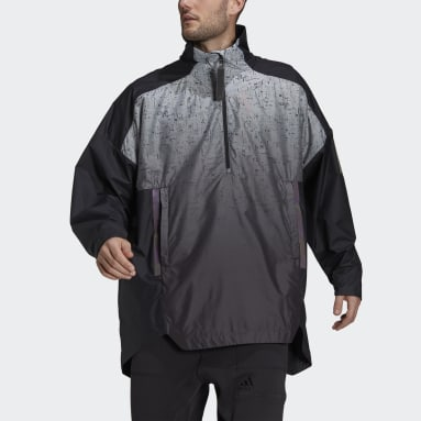 Men City Outdoor Black MYSHELTER Parley WIND.RDY Anorak Jacket