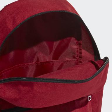Fitness Og Træning Burgundy Classic 3-Stripes rygsæk