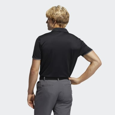 Heren Golf Zwart Core Poloshirt