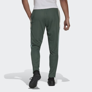 Men's Soccer Green Tiro Track Pants