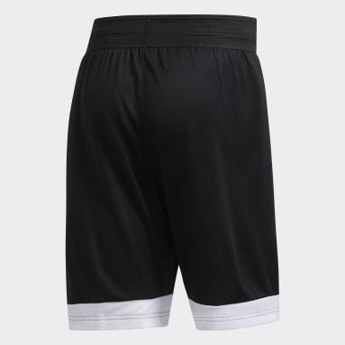 Heren Basketbal Zwart Creator 365 Short