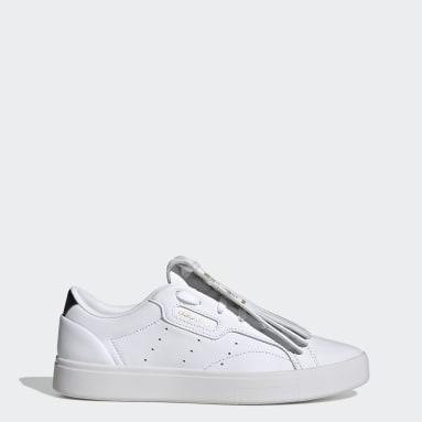 Dam Originals Vit adidas Sleek Shoes
