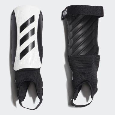 Soccer White Tiro Match Shin Guards