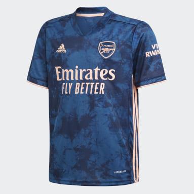 Kinderen Voetbal Blauw Arsenal 20/21 Derde Voetbalshirt