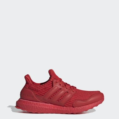 Women Running Red Ultraboost DNA S&L Shoes