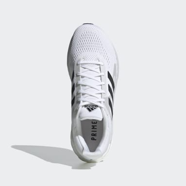 Running White SolarGlide Shoes