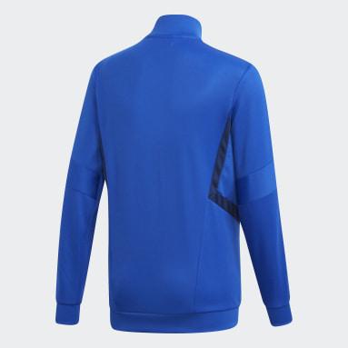 Veste d'entraînement Tiro 19 Bleu Adolescents Soccer