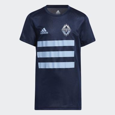 T-shirt Vancouver Whitecaps FC Creator Bleu Adolescents Soccer