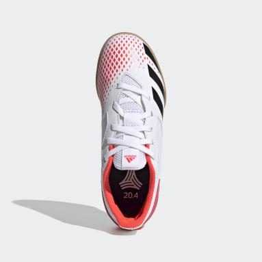 Kinder Futsal Predator 20.4 IN Sala Fußballschuh Weiß