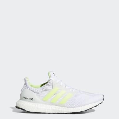 Men Running White Ultraboost 5 DNA Shoes