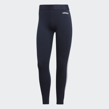 Tight Essentials 3-Stripes Bleu Femmes Sportswear