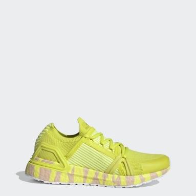 Sapatos Ultraboost 20 adidas by Stella McCartney Amarelo Mulher adidas by Stella McCartney