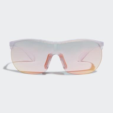 Lunettes de soleil Sport SP0003 Blanc Padel Tennis