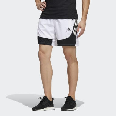 AEROREADY 3-Stripes Slim Shorts Hvit