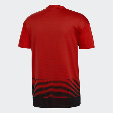 Men Soccer Red Manchester United Home Jersey