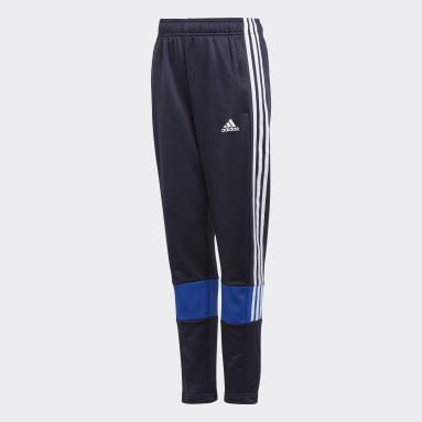 Pantalon Must Have 3-Stripes AEROREADY Bleu Garçons Fitness Et Training