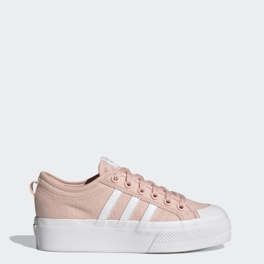Kvinder Originals Pink Nizza Platform sko