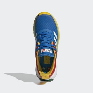 Děti Běh modrá Boty adidas x LEGO® Sport