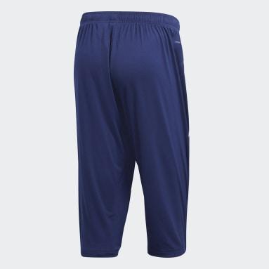 Men Football Blue Core 18 3/4 Pants