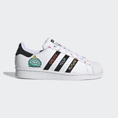 Zapatilla Superstar adidas x Kevin Lyons Blanco Niño Originals
