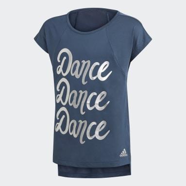 T-shirt AEROREADY Dance Bleu Filles Fitness Et Training