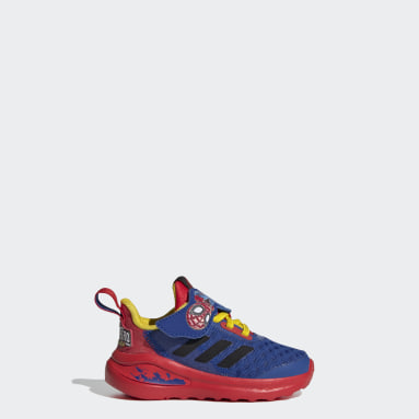 Infants Training Blue FortaRun Super Hero Shoes