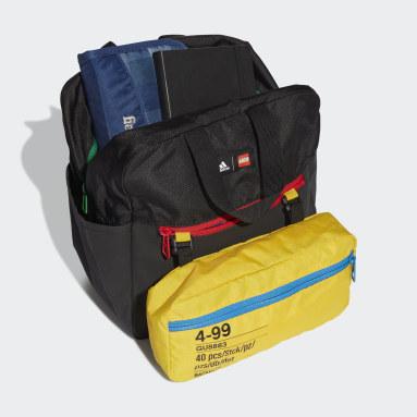 เด็ก เทรนนิง สีดำ กระเป๋าเป้ adidas x Classic LEGO®