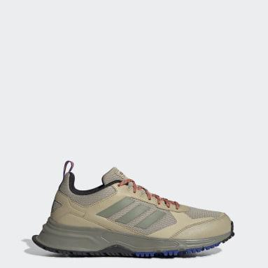 Men Running Beige Rockadia Trail 3.0 Shoes