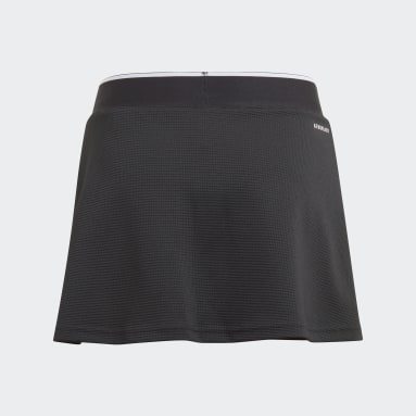 Youth 8-16 Years Tennis Black Club Skirt