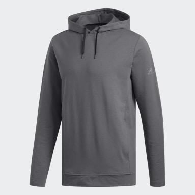 Men Golf Grey Lightweight Hoodie