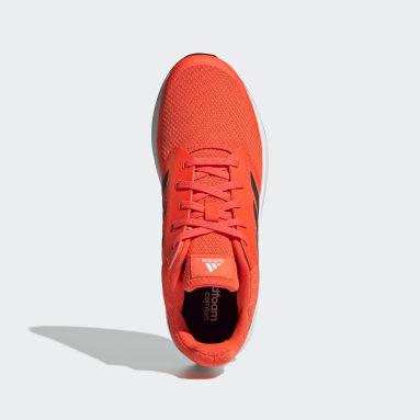Men Running Orange Galaxy 5 Shoes
