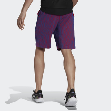 Men Tennis Purple Tennis Primeblue Next Level Shorts