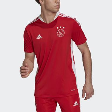 Heren Voetbal Rood Ajax Amsterdam Tiro Trainingsshirt