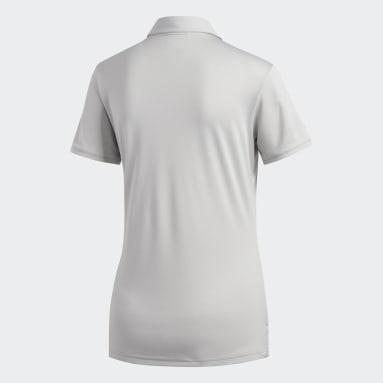 Women Golf Grey Tournament Polo Shirt