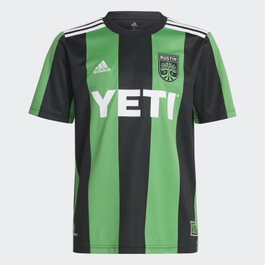 Youth Soccer Black Austin FC 21/22 Home Jersey