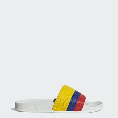 Originals Hvid adilette sandaler