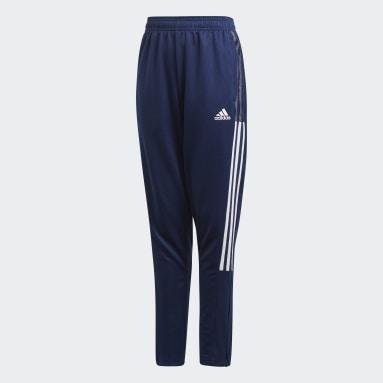 Pantaloni da allenamento Tiro 21 Blu Bambini Calcio
