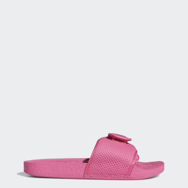 Sandalias Boost Pharrell Williams (UNISEX) Rosado Originals