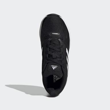 Çocuklar Koşu Siyah Runfalcon 2.0 Ayakkabı