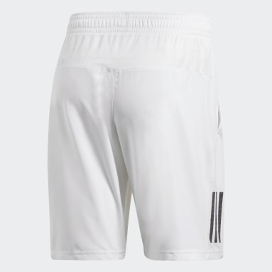 Shorts Club 3-Stripes 9-Inch Blanco Hombre Tennis