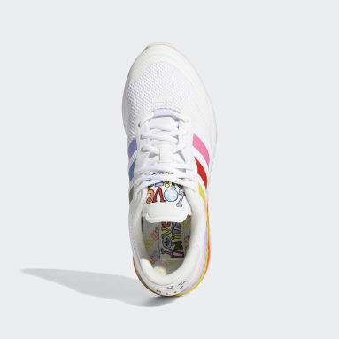 Originals White ZX 1K Boost Pride Shoes