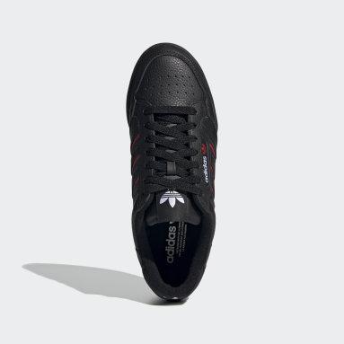 ผู้ชาย Originals สีดำ รองเท้า Continental 80 Stripes